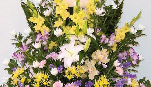 供物と供花を贈る