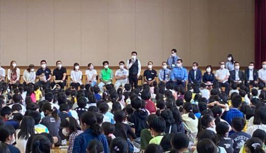 2021.06.22 佐久平浅間小学校へ「お仕事ゼミ」講師