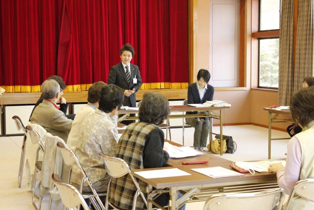 南牧村保健委員会にて、終活セミナー「老いへのプランニング」テーマで講師
