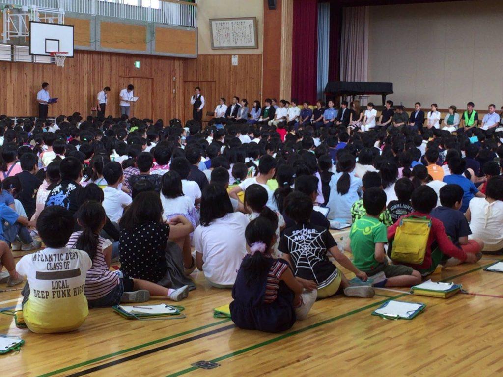 佐久平浅間小学校・つばさホールおくりびとの仕事紹介