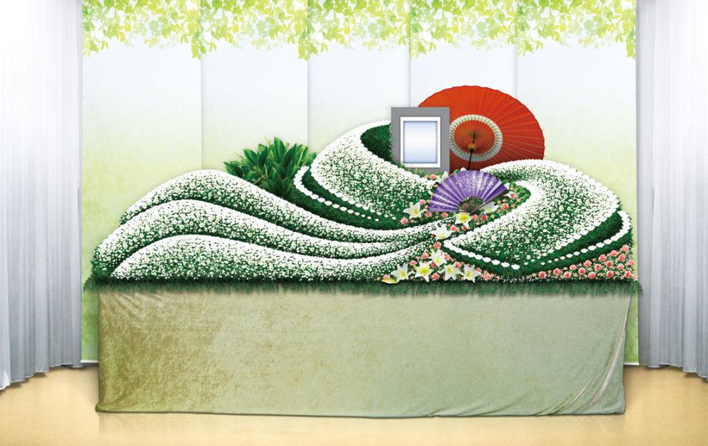 家族葬のつばさ・お花のぬくもりでお別れを