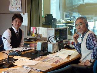 SBCラジオ「つれづれ散歩道」にゲスト出演しました。 2013.03.23